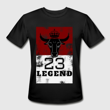 Basketball Jersey Legend 23 MJ Bulls Basketball Jersey and more - Men's Moisture Wicking Performance T-Shirt