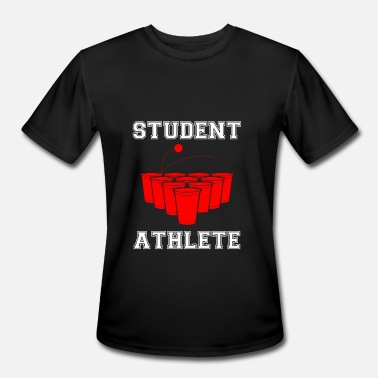 Student-athlete Beer Pong Student Athlete - Men's Moisture Wicking Performance T-Shirt