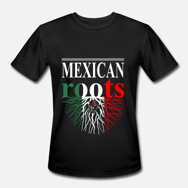 Mexican Roots Mexican Roots Tshirt - Men's Moisture Wicking Performance T-Shirt