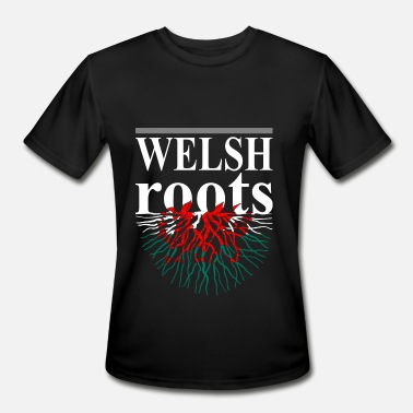 Welsh Roots Welsh Roots Tshirt - Men's Sport T-Shirt