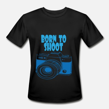 Born To Shoot BORN TO SHOOT - Men's Moisture Wicking Performance T-Shirt
