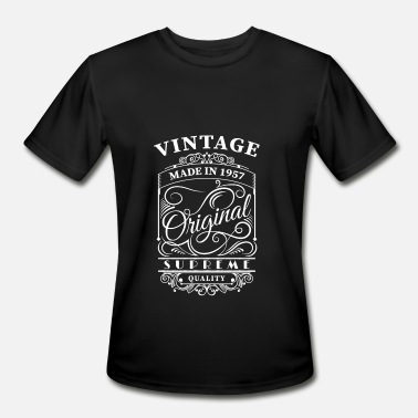 1957 Quote Vintage made in 1957 - Men's Moisture Wicking Performance T-Shirt