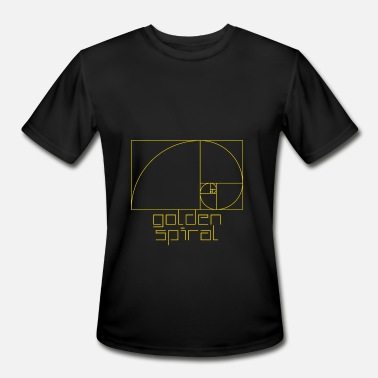 Golden Ratio Golden Ratio. Fibonacci. Golden Spiral - Men's Sport T-Shirt