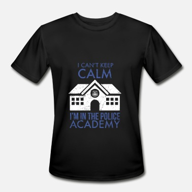 Ims Academy I Cant Keep Calm Im In The Police Academy - Men's Sport T-Shirt