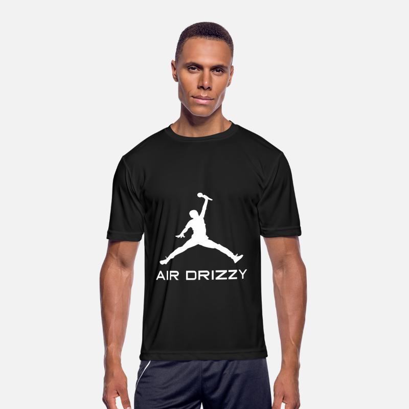 355b97b4e9f874 Parody T-Shirts - Drake Air Drizzy Jordan Jumpman Parody Funny Humor -  Men s Sport