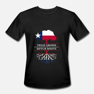 Dutch Pride Texan Grown with Dutch Roots - Men's Moisture Wicking Performance T-Shirt