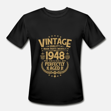 96ad25307 Funny 70th Birthday Vintage 70th Birthday Funny Tshirt 1968 Perfectly Aged  - Men'. Men's Sport T-Shirt. Vintage 70th ...
