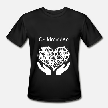 You Should See My Heart Childminder - You should see my heart - Men's Moisture Wicking Performance T-Shirt