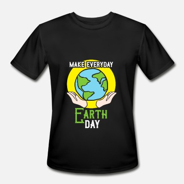 Climatic Protection make everyday earth day gift climate protection - Men's Moisture Wicking Performance T-Shirt
