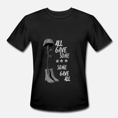 All Saints Day all gave some some gave all Bw Memorial Day - Men's Sport T-Shirt