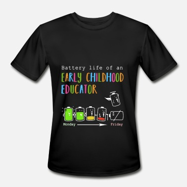 Early Childhood Educator Clothing battenry life of an early childhood educator bart - Men's Moisture Wicking Performance T-Shirt