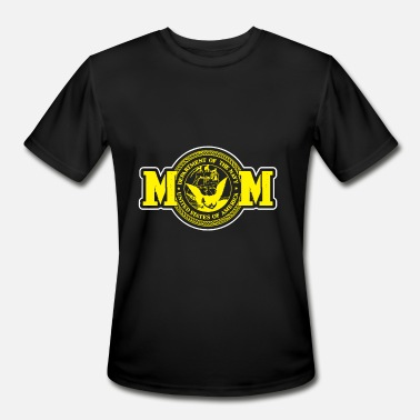Navy Mom Mother Military Armed Forces Patriotic Us - Men's Sport T-Shirt