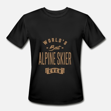 Alpine Club Alpine Skier - Funny Job and Hobby - Men's Moisture Wicking Performance T-Shirt
