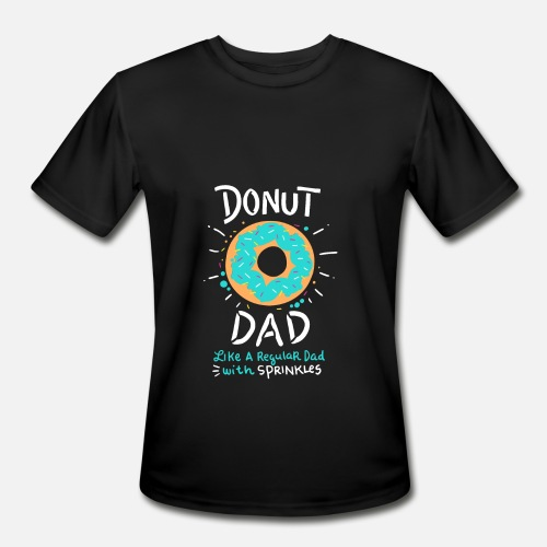 d5f27bcb Funny Donut Dad Shirt with Sprinkles Gift T-Shirt Men's Sport T ...