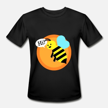 Bumble Cool bumble bee T-Shirt - Men's Moisture Wicking Performance T-Shirt