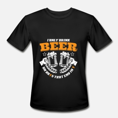 Ending In Y DRINK ON DAYS THAT END IN Y - BEER SHIRT | GIFT - Men's Moisture Wicking Performance T-Shirt
