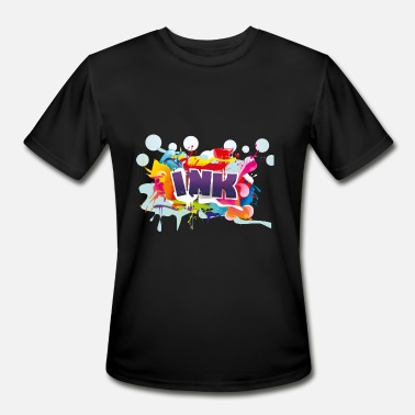 Ink Drop ink - Men's Moisture Wicking Performance T-Shirt