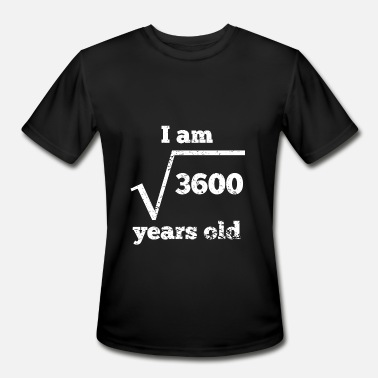Square 60th Birthday Square Root - Men's Moisture Wicking Performance T-Shirt