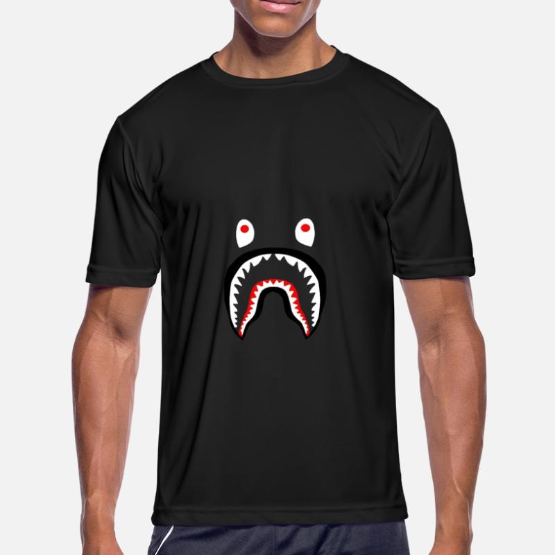 90ac2ebf Shop Bape Shark T-Shirts online | Spreadshirt