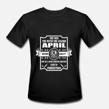 Age Of Gemini Gemini Legend April - Men's Moisture Wicking Performance T-Shirt