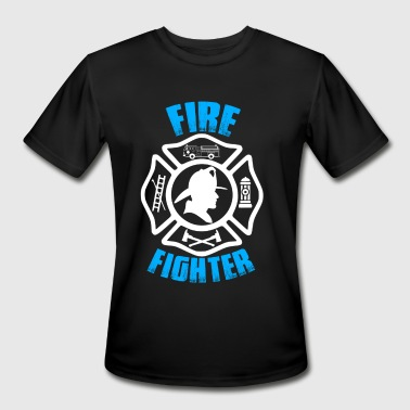 Fire Fighter - Men's Moisture Wicking Performance T-Shirt