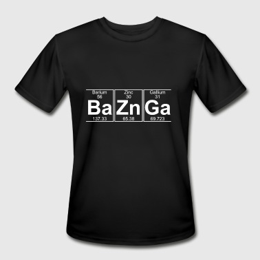 Ba Zn Ga Ba Zn Ga baznga - Men's Moisture Wicking Performance T-Shirt