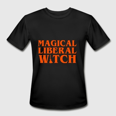 Witch Magic Magical Liberal Witches Halloween - Men's Moisture Wicking Performance T-Shirt
