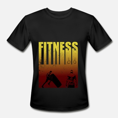 Tire Flips Fitness strong man tire flipping - Men's Sport T-Shirt