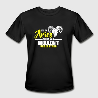 Its an Aries Thing Horoscope Astrology Ram - Men's Moisture Wicking Performance T-Shirt