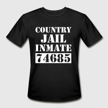 County Jail County Jail Prison Inmate 74685 - Men's Moisture Wicking Performance T-Shirt