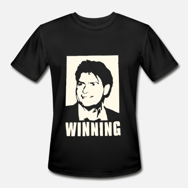 Charlie Sheen CHARLIE SHEEN WINNING OFFICIAL - Men's Sport T-Shirt