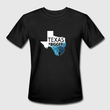 Everything Bigger In Texas Texas Is Bigger Than Harvey. Texas Hurricane White - Men's Moisture Wicking Performance T-Shirt