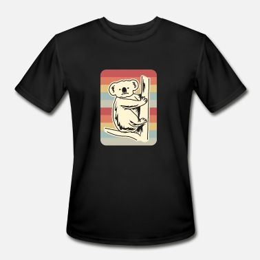 Eucalyptus Koala Eucalyptus Animal Retro Gift - Men's Sport T-Shirt