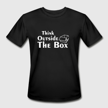 Think Outside the box - Think Outside the box - Men's Moisture Wicking Performance T-Shirt