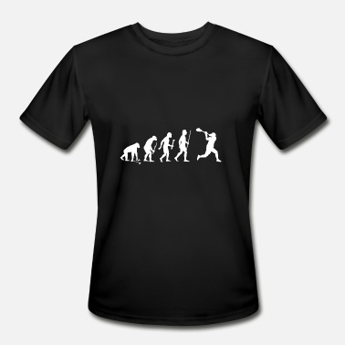 Lacrosse - Evolution of Man and Lacrosse Funny S - Men's Sport T-Shirt