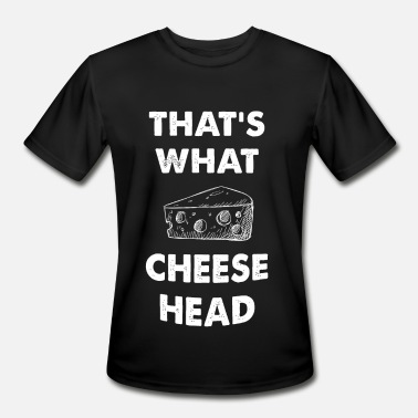 Mayor Mccheese Cheese - That's what Cheese Head - Men's Sport T-Shirt