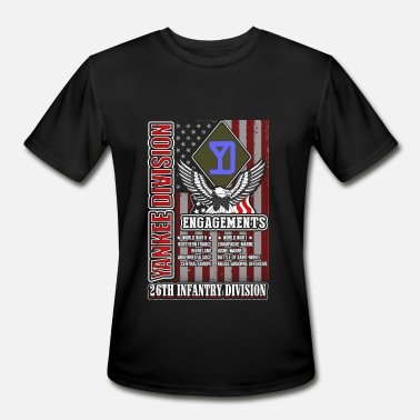 26th Infantry Division 26th infantry division - Yankee division US tee - Men's Moisture Wicking Performance T-Shirt
