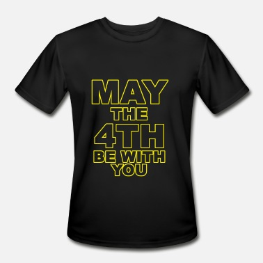 May The Love Be With You May the 4th - may the 4th be with you - Men's Sport T-Shirt