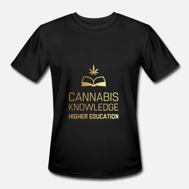 Cannabis Knowledge Higher Education - Men's Moisture Wicking Performance T-Shirt