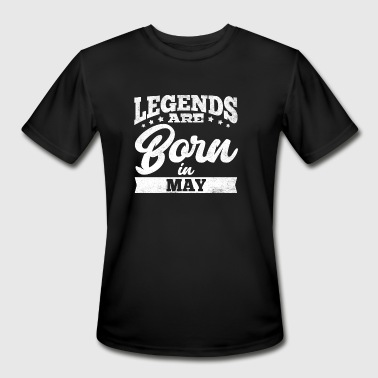 Boss Born May Legends are born in May - Men's Moisture Wicking Performance T-Shirt