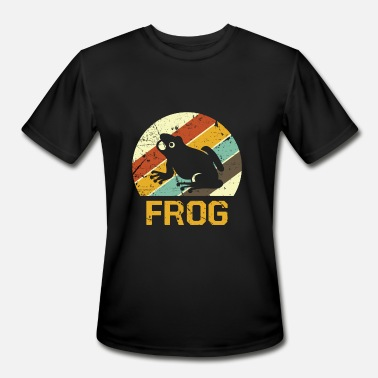 Frogs Slimy Frog Slimy Toxic Mud - Men's Sport T-Shirt
