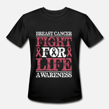 Fight Breast Cancer Awareness Breast Cancer Awareness Fight For Life - Men's Moisture Wicking Performance T-Shirt