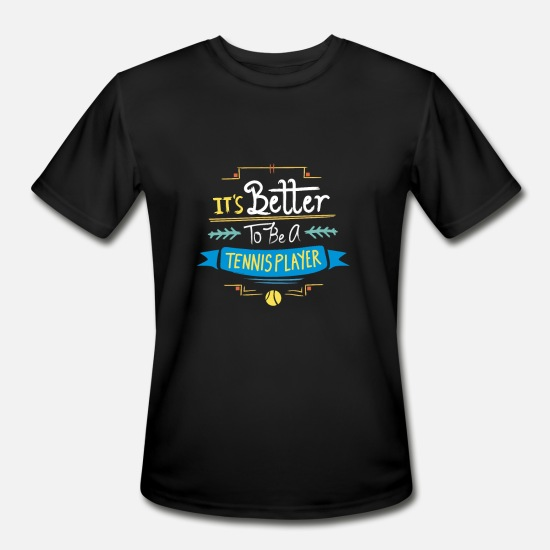 b6977a029f Funny Tennis Player Gift Idea | Tennis Quotes Men's Sport T-Shirt ...