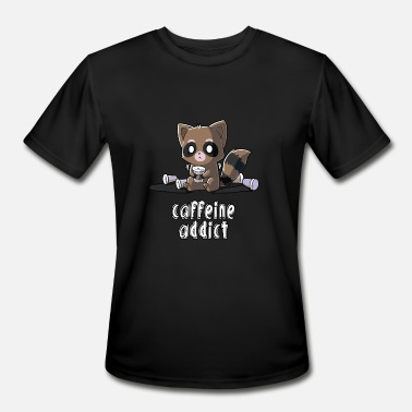 Caffeine Addicted Caffeine Addict - Men's Moisture Wicking Performance T-Shirt