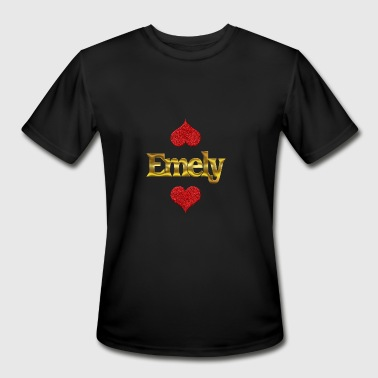 Emely - Men's Moisture Wicking Performance T-Shirt