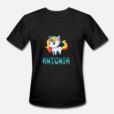 Antonia Antonia Unicorn - Men's Moisture Wicking Performance T-Shirt