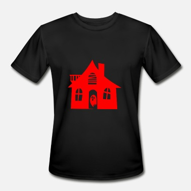 Haunted House haunted house - Men's Moisture Wicking Performance T-Shirt