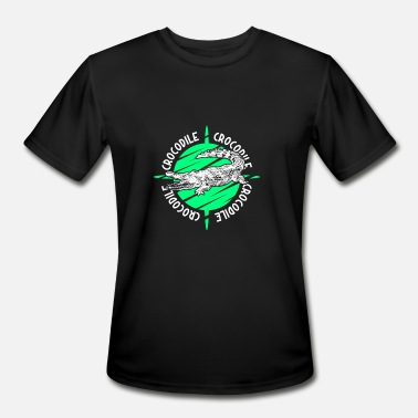 Amazon River Crocodile - Men's Moisture Wicking Performance T-Shirt
