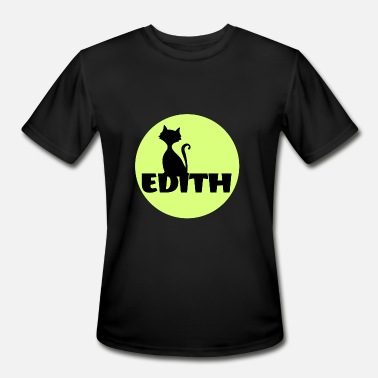 First Name Initial Edith first name - Men's Moisture Wicking Performance T-Shirt