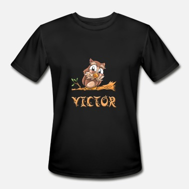 Victors Victor Owl - Men's Moisture Wicking Performance T-Shirt